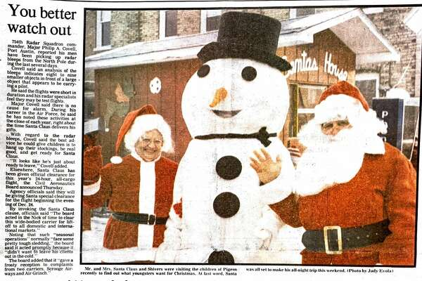 For this week's Tribune Throwback we look back to December 1983.