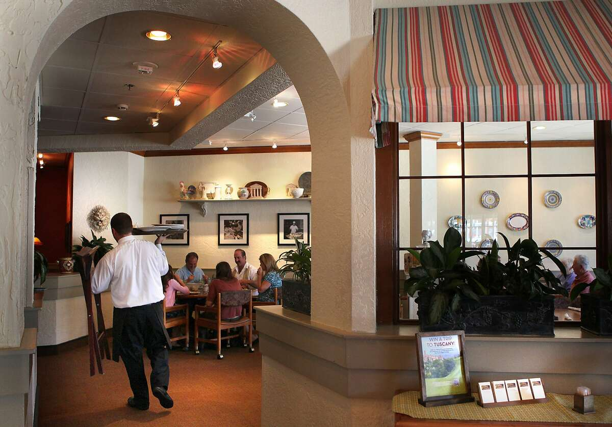 The Olive Garden at Stonestown Galleria was San Francisco's only location of the Florida chain known for giant portions of pasta and endless breadsticks.