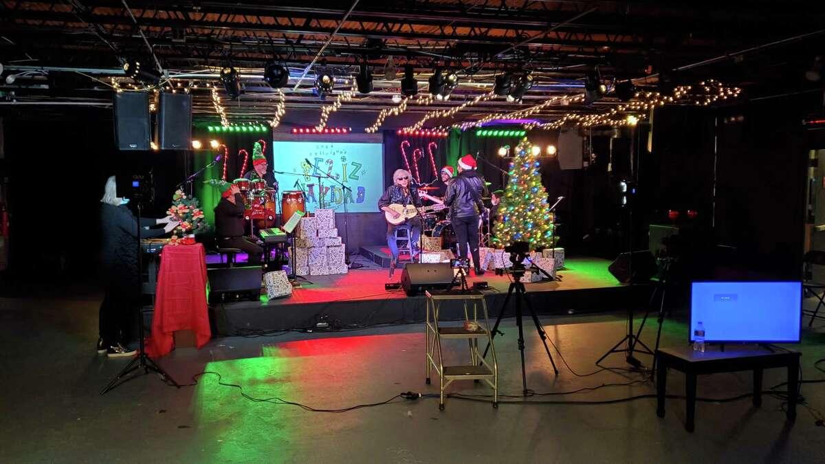 Factory Underground Studio in Norwalk provided the facility when Jose Feliciano recorded a segment for