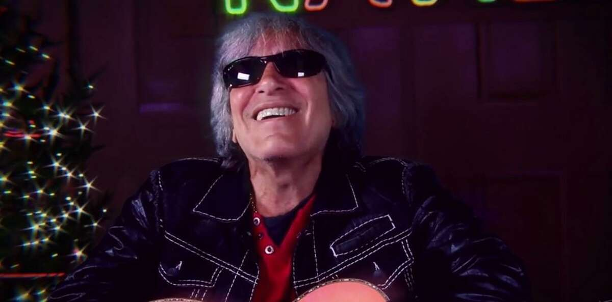 Jose Feliciano recorded a segment at Factory Underground Studios in Norwalk for Monday night's