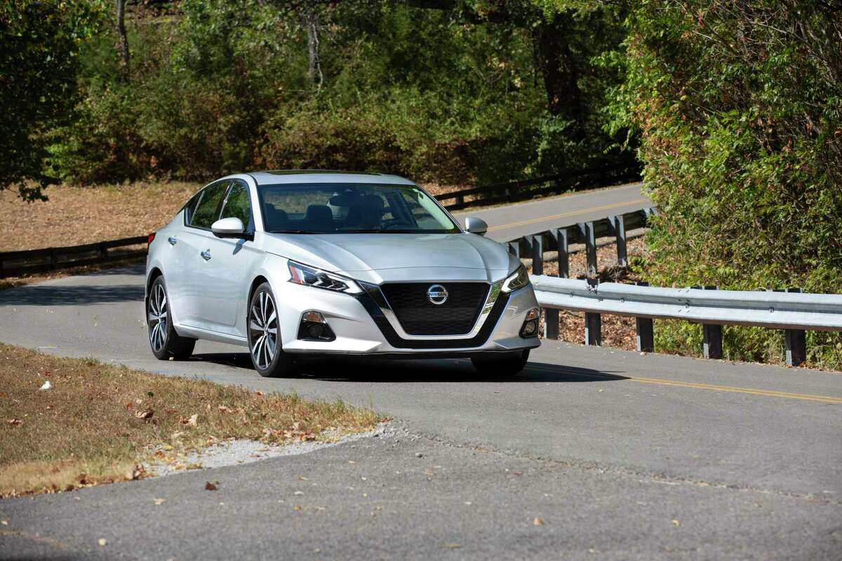 The 2021 Nissan Altima has a respectable 25/34 fuel economy.