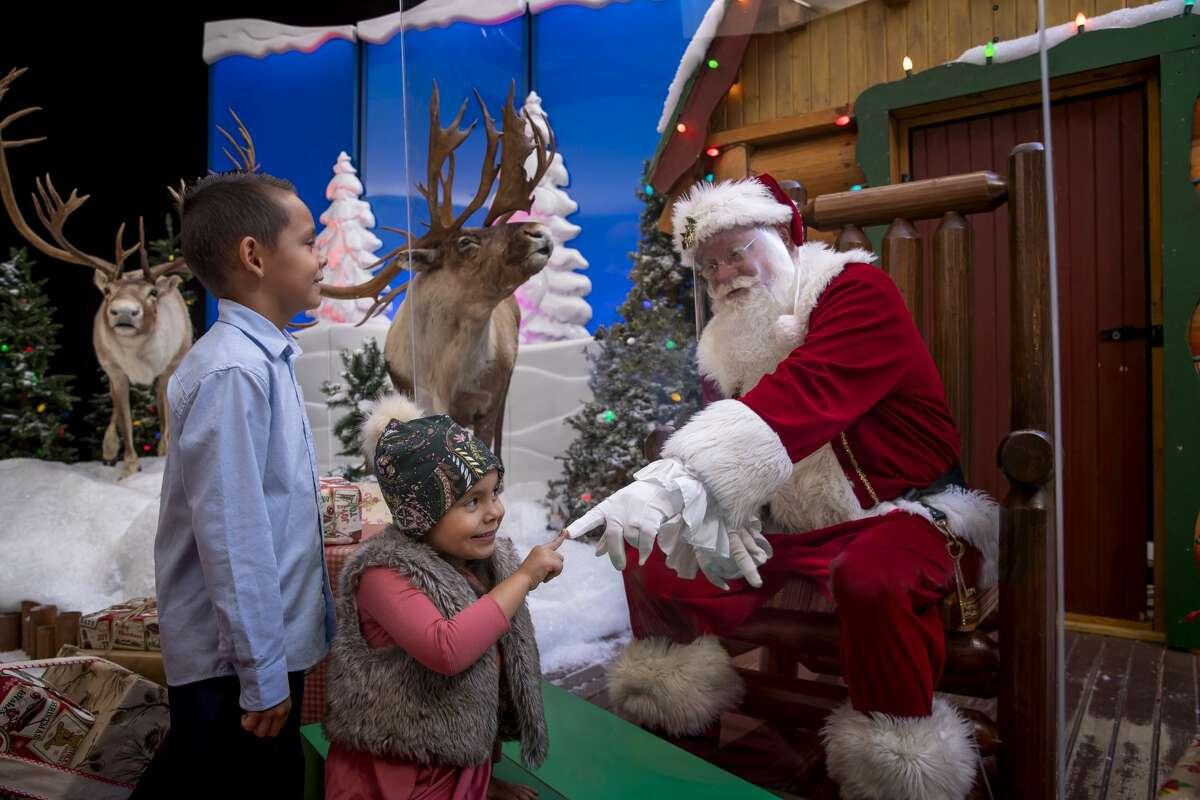 Santa's Wonderland at Bass Pro Shops in Bridgeport during the 2020 holiday season.