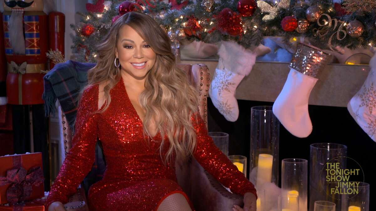 THE TONIGHT SHOW STARRING JIMMY FALLON -- Episode 1369A -- Pictured in this screengrab: Singer Mariah Carey during an interview on December 7, 2020 -- (Photo By: NBC/NBCU Photo Bank via Getty Images)