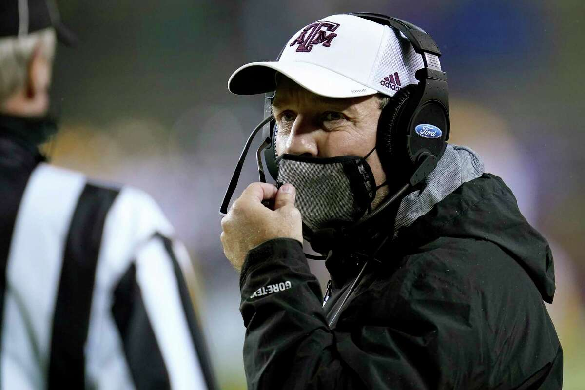 Jimbo Fisher believes A&M's play on the field will say more about its playoff-worthiness than anything else.