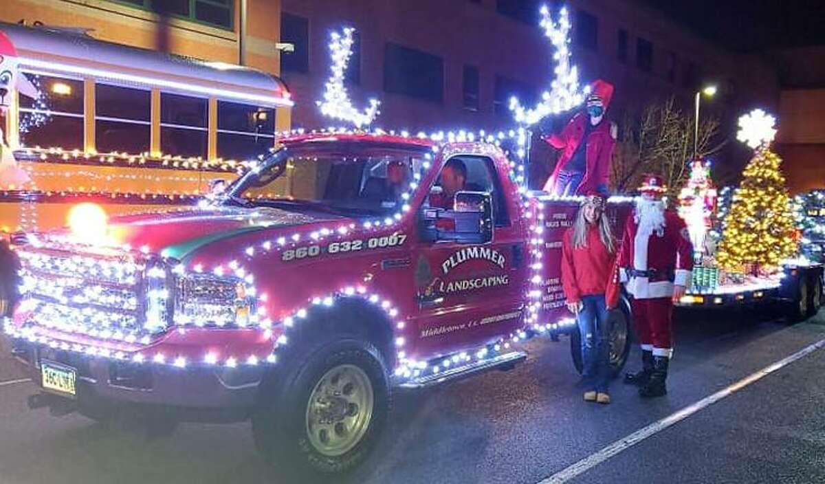 The first-place winner for most festive decorated vehicle in the