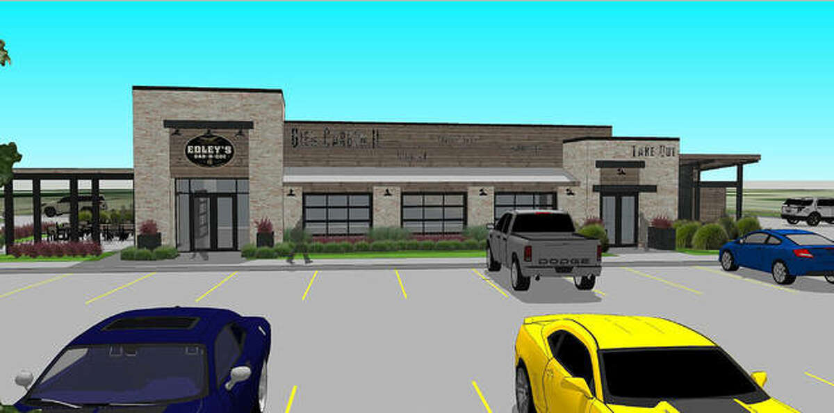 A rendering of the proposed Edley's in Glen Carbon.