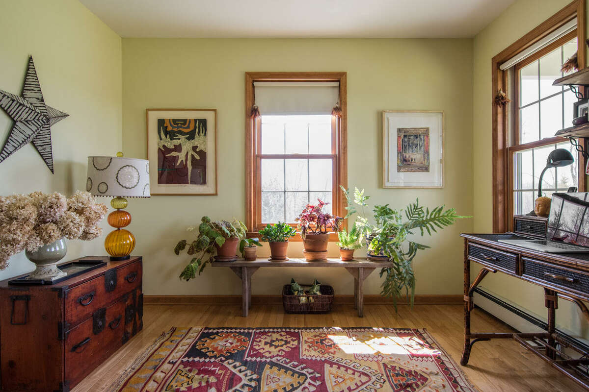 Pick warm green if you want a room that's energizing, advises Amy Krane, an architectural color consultant in Ghent, NY.