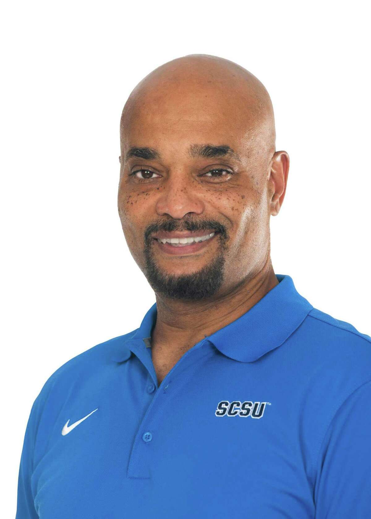 Byron Knox was named the Southern Connecticut State women's gymnastics coach in September.