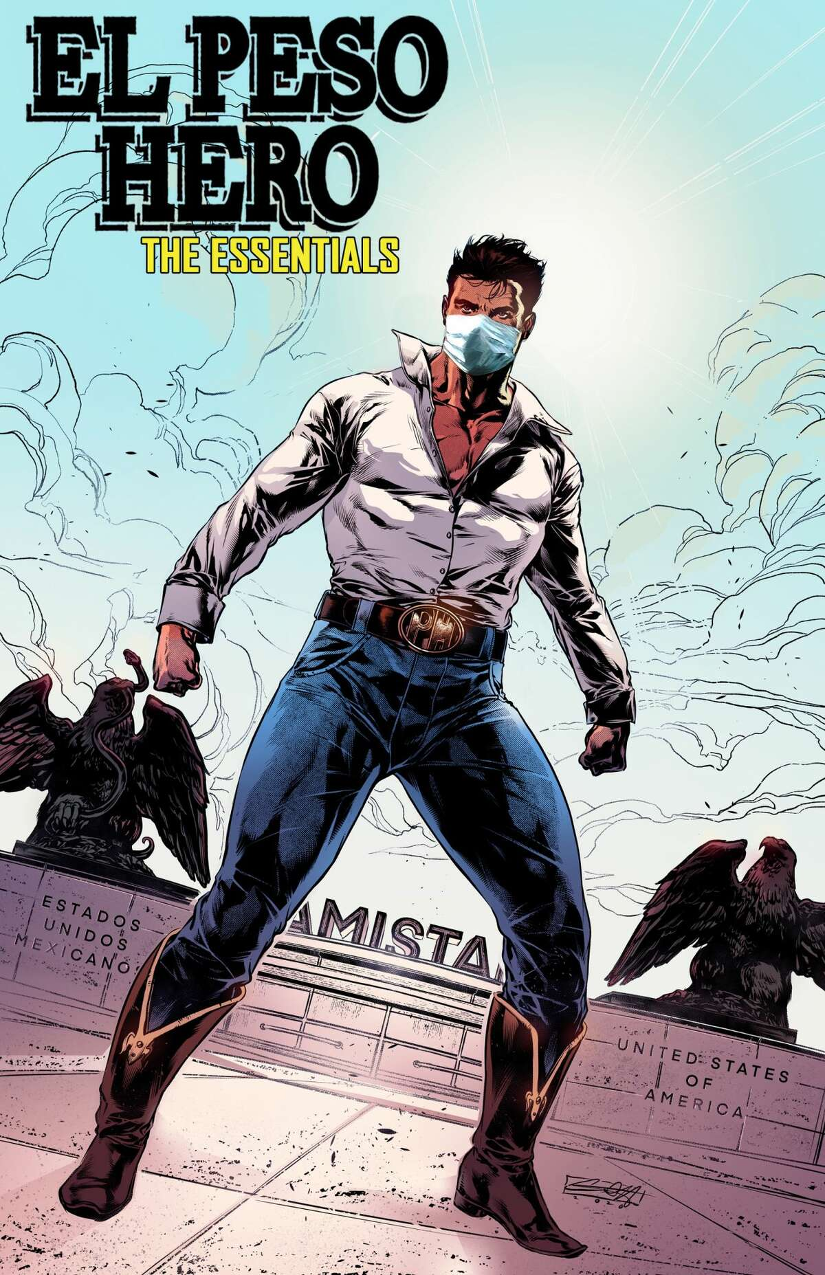 Rodriguez's latest comic book is titled