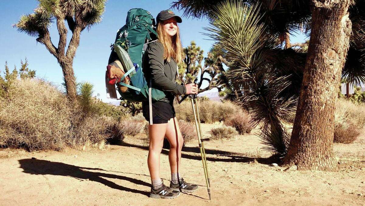 Former New Milford resident Hannah Bacon is walking across the United States to raise awareness and funds for climate action.