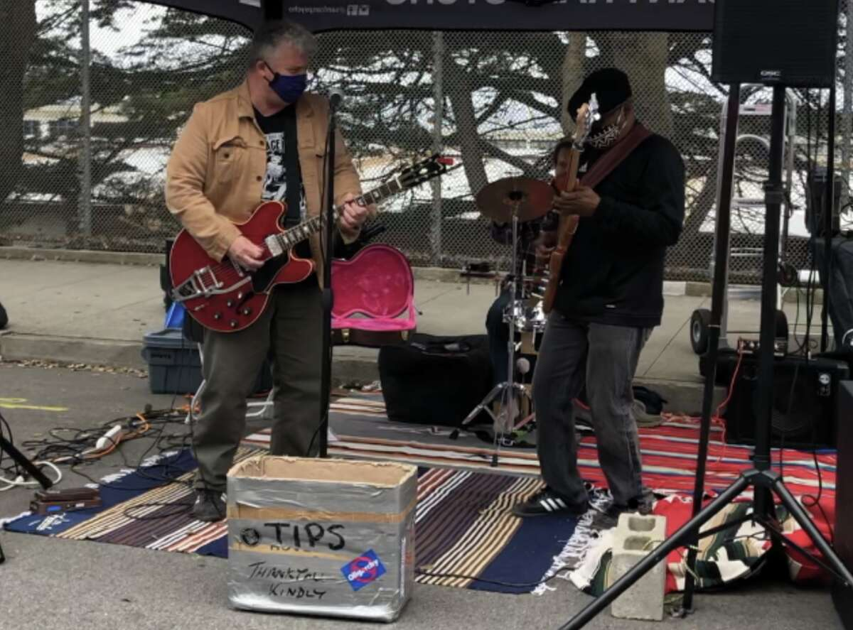 Kevin North Band plays at Sunset Mercantile.