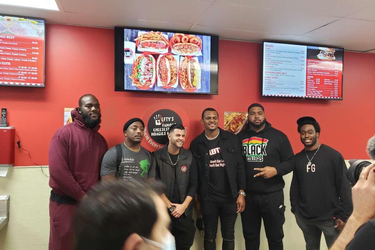 Texans Players Attend Grand Opening of Deshaun Watson's New Restaurant Despite NFL's Coronavirus Protocols
