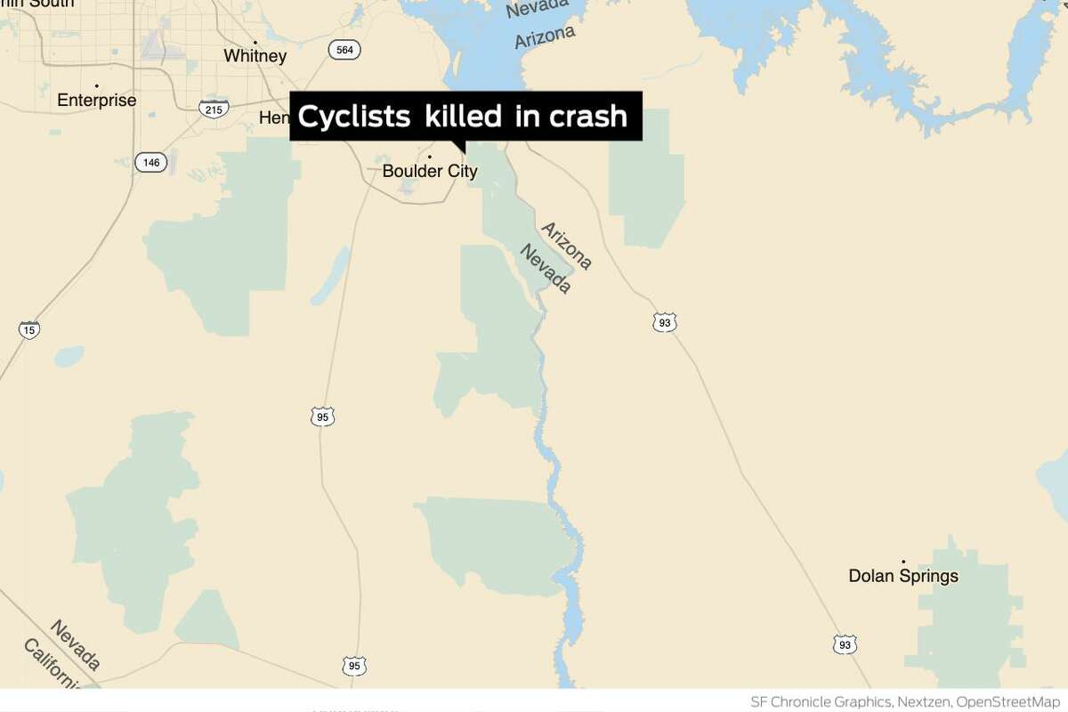 The chief financial officer of Bay Area sporting goods chain Sports Basement was one of five cyclists killed in a crash last week in Nevada.