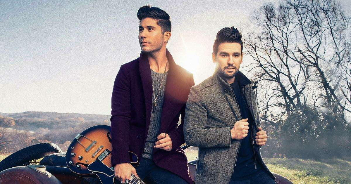 The music duo Dan + Shay - vocalists and songwriters Dan Smyers and Shay Mooney -are scheduled to perform at the Mohegan Sun Arena in Uncasville Sept. 11, 2021.