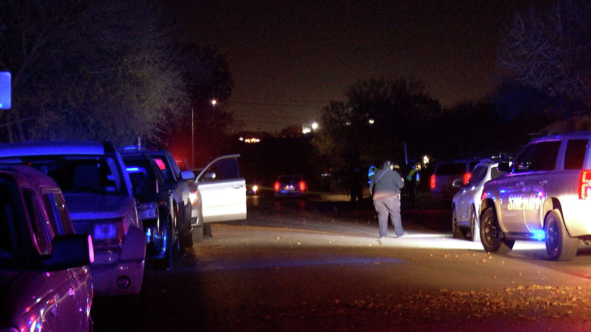 Officials are searching for the person responsible in a fatal hit and run on the Northeast Side Tuesday night, the Bexar County Sheriff's Office said.