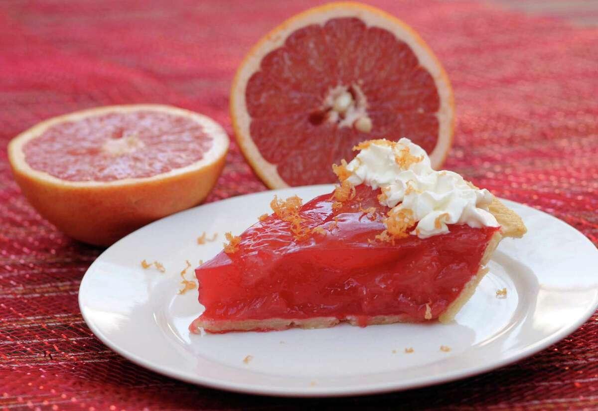 Rio Star Grapefruit Pie