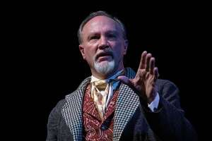 """Dick Terhune's one-man performance of """"A Christmas Carol"""" will be streamed on Warner Theatre's YouTube channel and Facebook page, with the first show Dec. 18 at 7 p.m. The production will available online until Jan. 1 at 6 p.m. There's no fee, but donations to the Torrington venue are welcome, via warnertheatre.org"""
