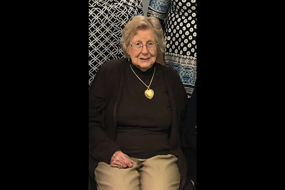 Elenora Davidson has been celebrating her 90th birthday by reminiscing about her youth, during which she often felt she was saved by the grace of God. Photo: Photo Provided