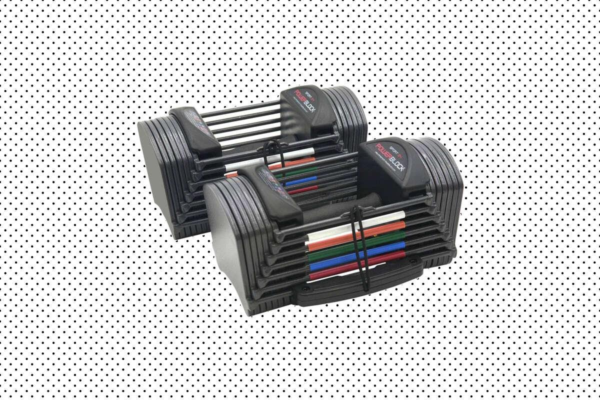 PowerBlock Sport 24 Adjustable Dumbbells (2020 model), $499.95 at Walmart (Will ship before Christmas)