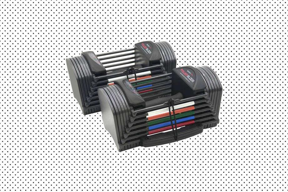 PowerBlock Sport 24 Adjustable Dumbbells (2020 model), $499.95 at Walmart (Will ship before Christmas) Photo: Walmart/Hearst Newspapers