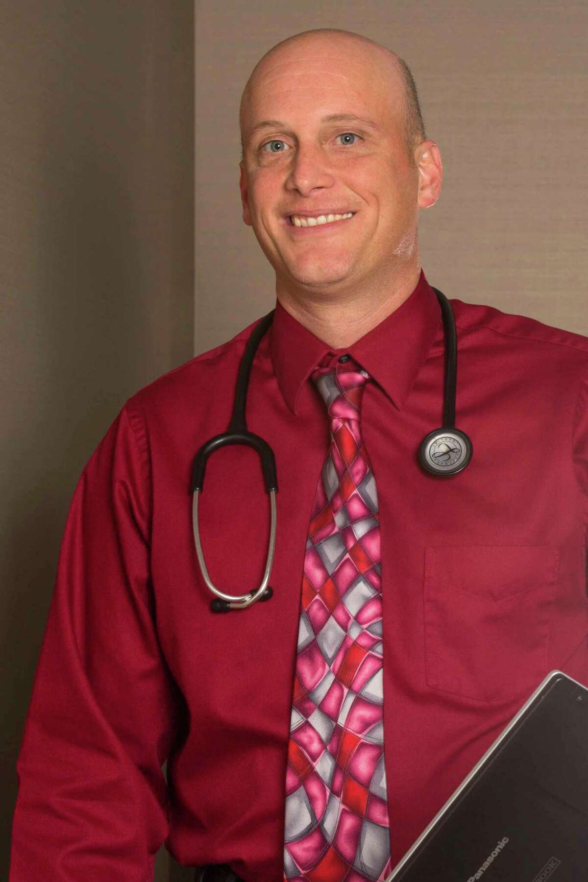Dr. Brian McComb,Munson Healthcare Manistee Hospital's Chief Medical Officer.