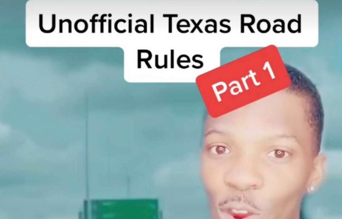 Tik Tok user ShermanLiving gives us a guide to Texas roadways.