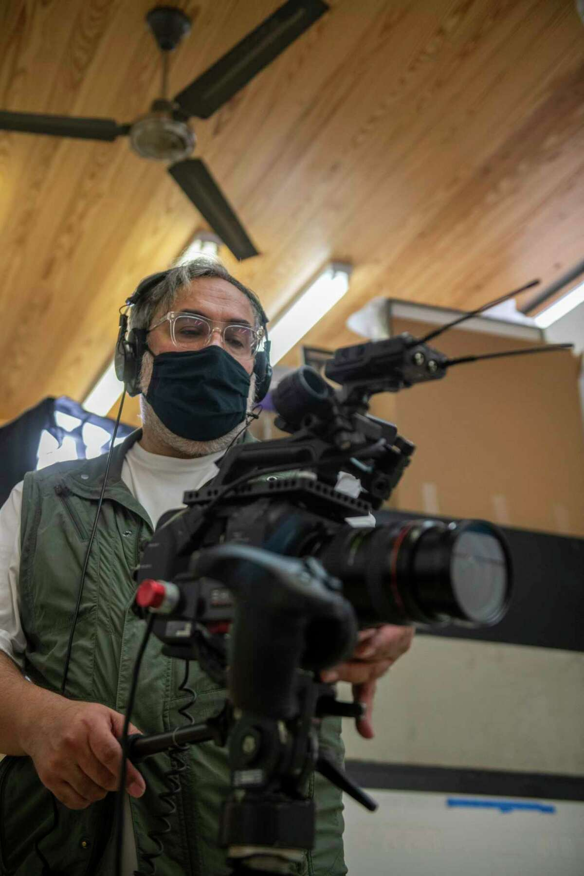 """San Antonio-based filmmaker Ray Santisteban, whose latest film, """"Vincent Valdez: The Beginning is Near,"""" is part of a series of online profiles of contemporary artists."""