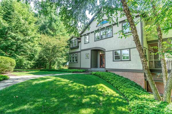 A home along a cul de sac in Niskayuna with Craftsman and Stickley-inspired details. It has 3,800 square feet of living space, four bedrooms, two full bathrooms and two half-baths, a theater room, extensive outdoor space on an 1.3-acre lot and a hot tub. Niskayuna schools. Taxes: $21,314. List price: $749,900. Contact listing agent Fran Callahan of Berkshire Hathaway Blake at 518-265-9295. https://realestate.timesunion.com/listings/108-Deanna-Ct-Niskayuna-NY-12309-MLS-202025037/43431401