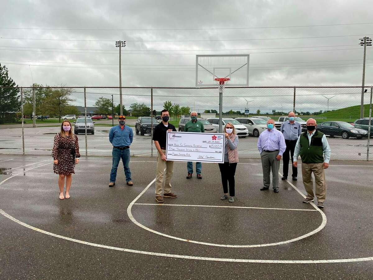 Through partnerships with multiple regional foundations and local businesses, including DTE Energy Foundation, AEP Foundation, Consumers Energy Foundation, Glancy Foundation, Thumb Bank and Trust, NorthStar Bank, United Way, and Meijer, the Huron County Community Foundation was able to provide pandemic assistance through the Emergency Assistance Fund. (Courtesy Photo)