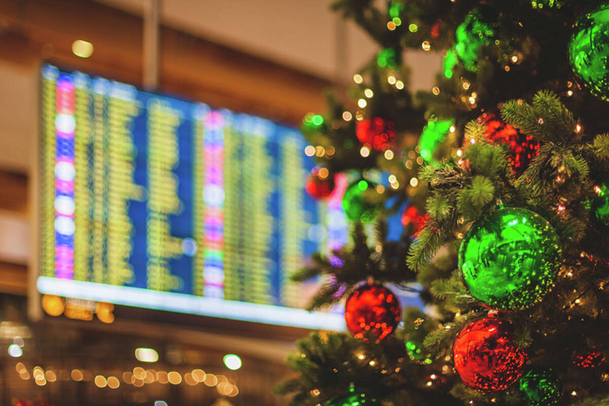 Airline trips for the holidays are likely to fall by 60% from last year.