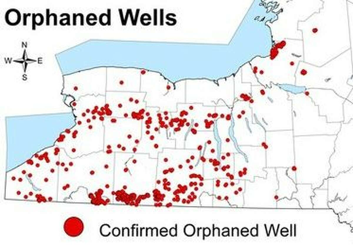 Western NY is riddled with old oil and gas wells that may be leaking methane.