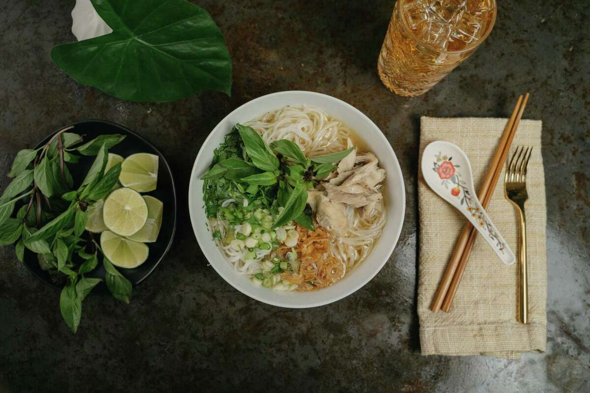A noodle bowl from House of Má