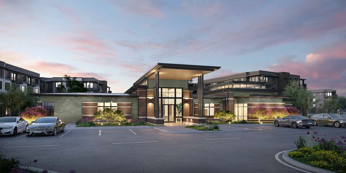 The clubhouse atStarling at Bridgeland, a 358-unit apartment project in the Parkland Village community in Bridgeland.