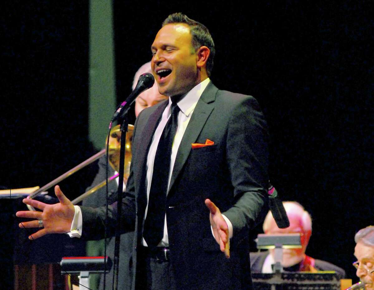 """Singer Bryan Anthony will join The Woodlands Symphony and The Woodlands Jazz Orchestra for """"A Swinging Christmas Concert"""" at 6 p.m. Sunday."""