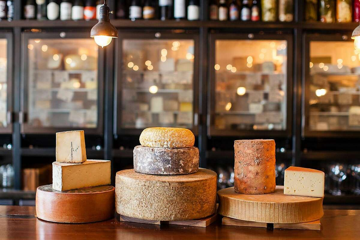 Cheeses sold at Mission Cheese on Valencia Street, which is closing at the end of the year.