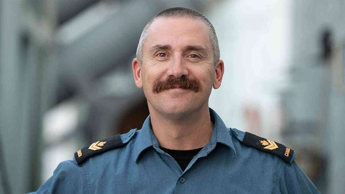 Duane Earle, member of the Royal Canadian Navy, who reportedly fell overboard from a Canadian warship Monday about 575 miles west of San Francisco. coast. A 30-hour rescue mission that included members of the Alameda Coast Guard failed to recover his body.