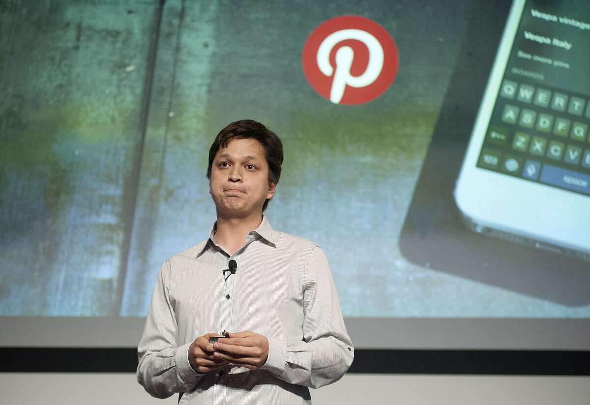 Pinterest CEO Ben Silbermann addresses a Pinterest media event at the company's corporate headquarters in San Francisco, California on April 24, 2014. Pinterest launched a tool to help people quickly sift through the roughly 30 billion 'Pins' on the service's online bulletin boards to find what they like. AFP PHOTO / JOSH EDELSONJosh Edelson/AFP/Getty Images