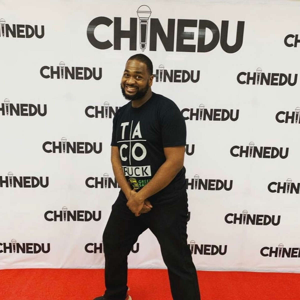 Comedian Chinedu Ogu is Houston-born and raised, a fact that's hard to miss if you've ever listened to his jokes.