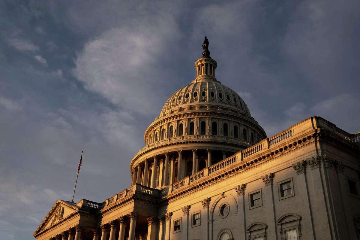 The U.S. Capitol in Washington, D.C., U.S., on Thursday, Dec. 3, 2020.