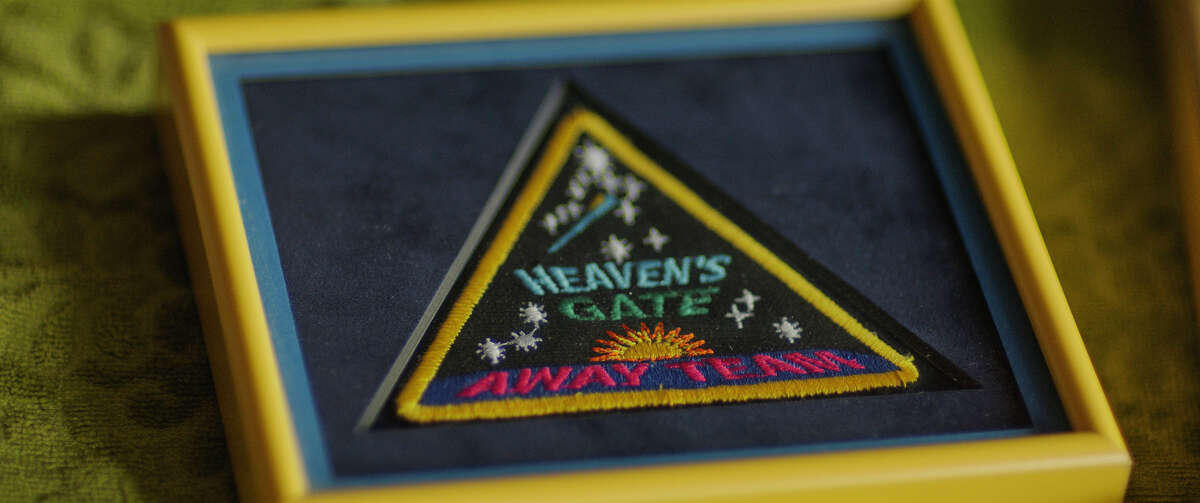 A patch made by the Heaven's Gate cult. The
