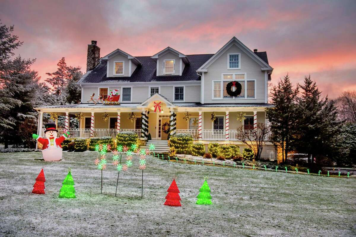 Founders Hall has sponsored a community house and yard decorating contest, that it's calling the Founders Hall-iday Light Fight. 111 High Ridge Ave., is one of many local holiday displays.