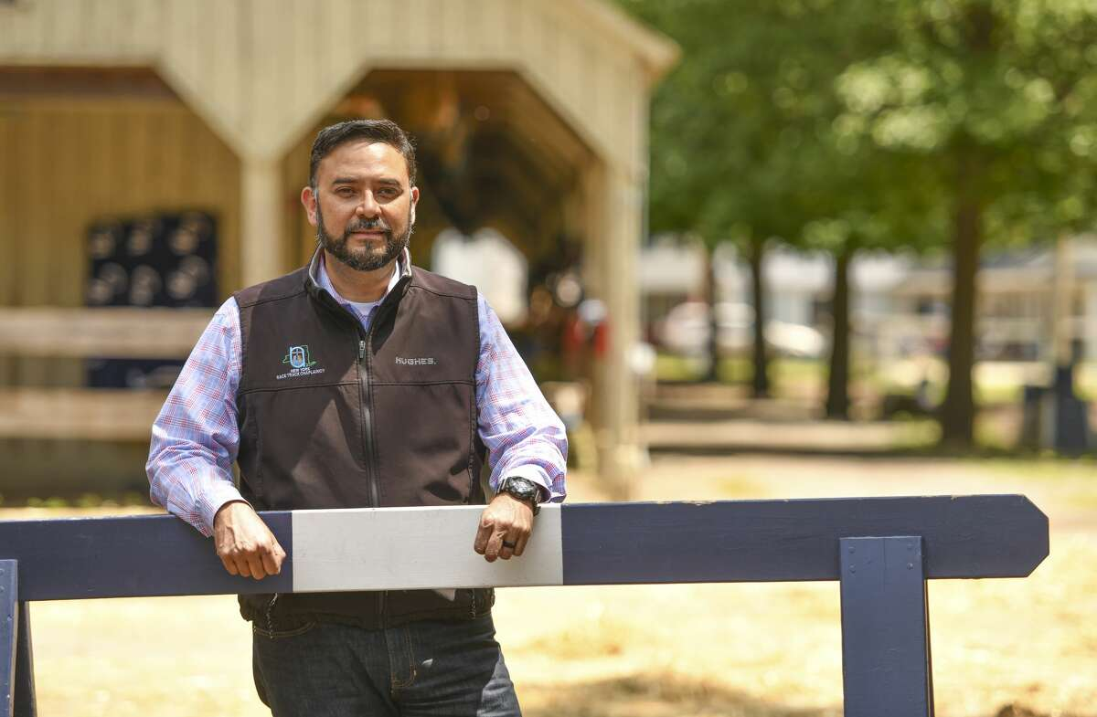 Chaplain Humberto Chavez helps backstretch workers in all of New York's racetracks including Saratoga Springs in summer and in winter.