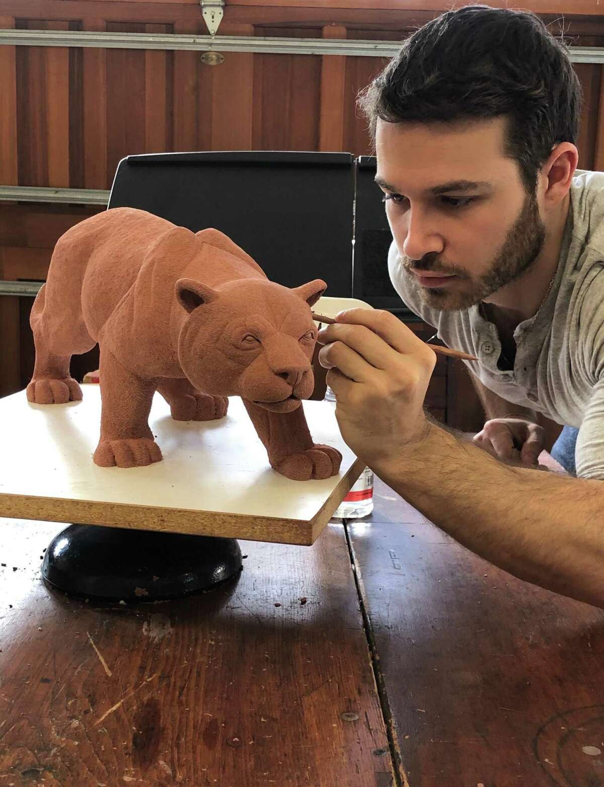 Local sculptor with a studio in Weston, Jesse Nusbaum, has been selected as a winner of the Artist of the Future award by the Contemporary Art Curator Magazine.