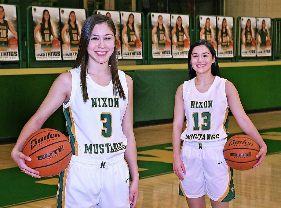 After helping Nixon qualify for the playoffs in 6A for the first time this season, seniors Dominique Lecea and Rosa Cavazos are pushing to help them do the same thing in basketball. Photo: Cuate Santos / Laredo Morning Times / Laredo Morning Times