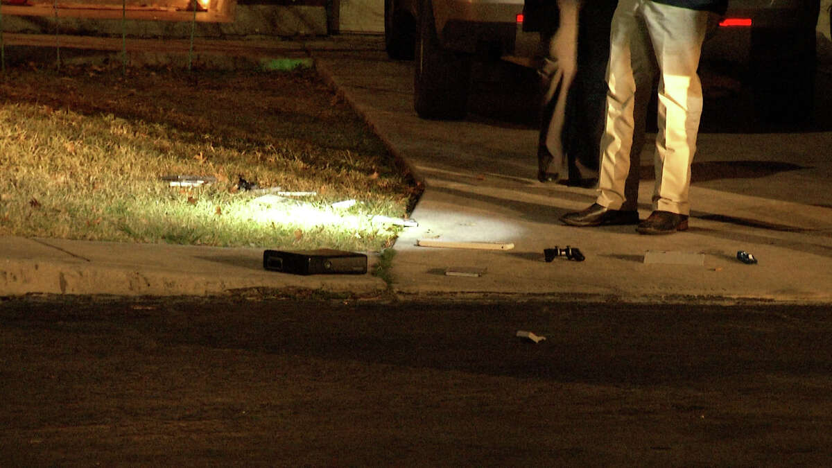 The Bexar County Sheriff's Office is searching for multiple suspects in connection with a home invasion robbery on the East Side Thursday morning.