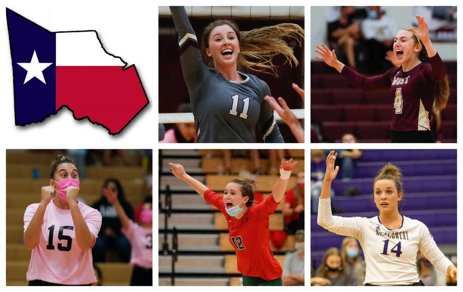 Faith Lynch, Bethany May, Piper Boydstun, Clara Brower and Raina McWhirter are The Courier's nominees for Setter of the Year. Photo: Staff File Photos