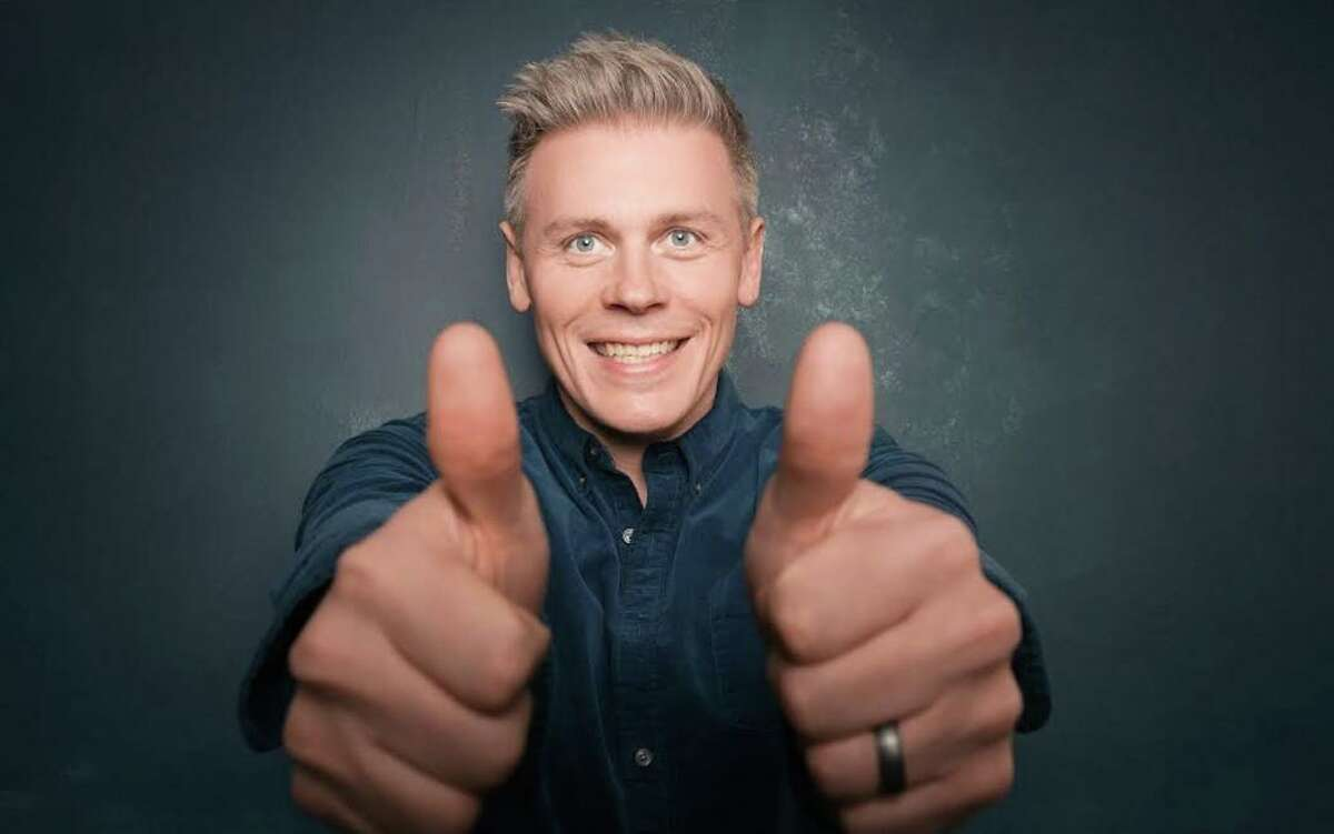 Comedian Christian Finnegan, seen here, will be featured in a virtual end-of-the-year review hosted by Beecher and Joe Gerics, cofounders of Fairfield Comedy Club, Dec. 30.