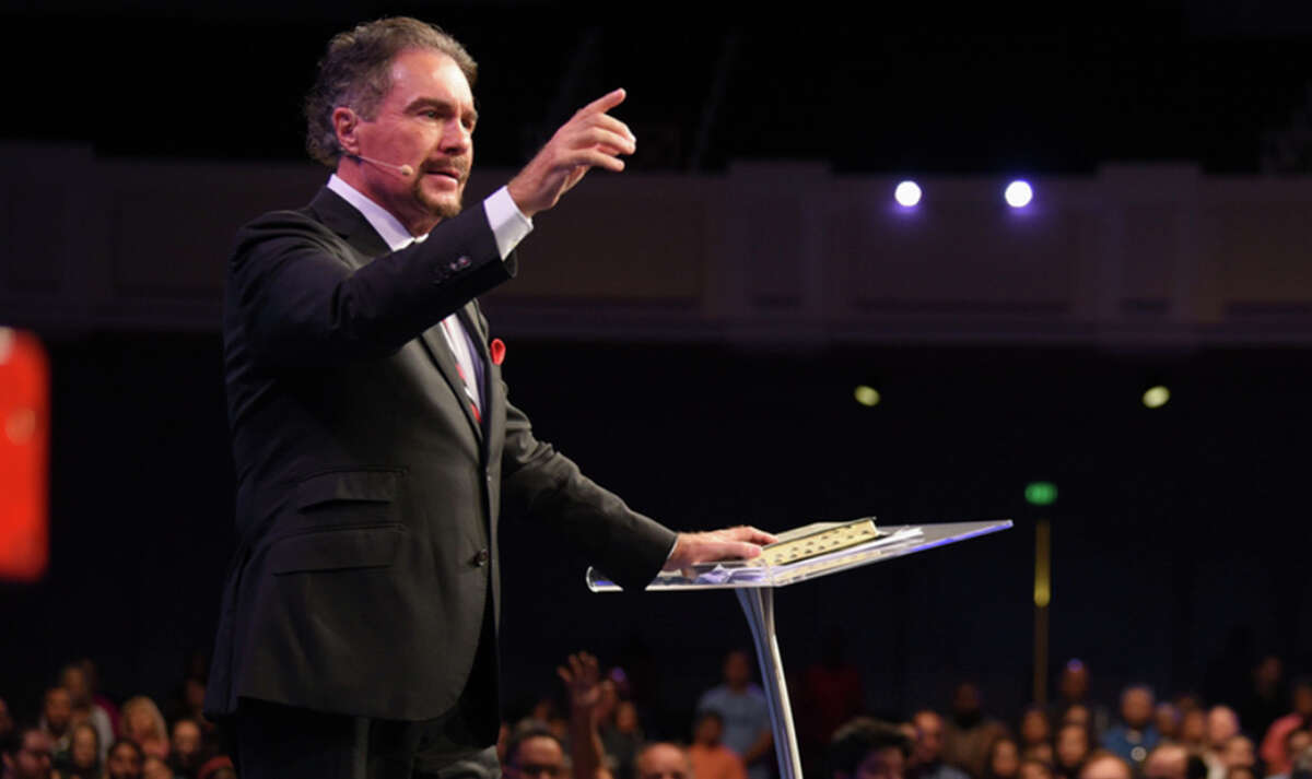 Televangelist Marcus Lamb of Daystar Television.