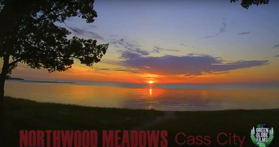 Watch the sunlight dance off of the clouds and water in this video featuring 40 sunsets from 2020 filmed by Green Globe Films and presented by Northwood Meadows in Cass City. Photo: Green Globe Films/for The Huron Daily Tribune
