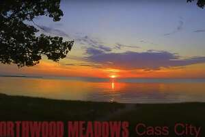 Watch the sunlight dance off of the clouds and water in this video featuring 40 sunsets from 2020 filmed by Green Globe Films and presented by Northwood Meadows in Cass City.